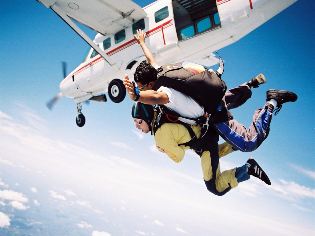 Skydiving Tennessee Tandem